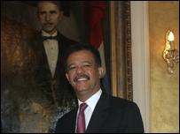 Leonel Fern�ndez, presidente de Rep�blica Dominicana