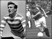 Billy McNeill and John Greig