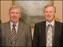 John Greig and Billy McNeill