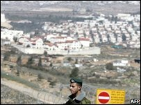 Jewish settlement of Givat Zeev in the West Bank
