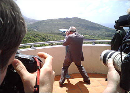 Prince Charles in Montserrat
