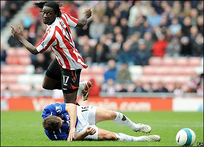 Sunderland's Kenwyne Jones