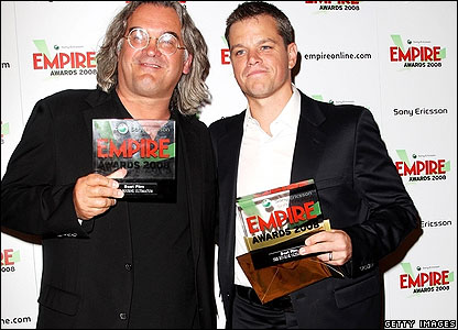 Paul Greengrass and Matt Damon