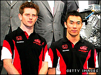 Anthony Davidson and Takuma Sato