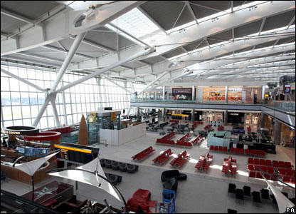 Inside Terminal 5