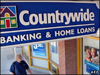 Countrywide banking and home loans office in Arizona