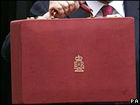 The chancellor's red budget box