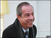 Malta's Prime Minister and Nationalist Party leader Lawrence Gonzi - 8 March 2008