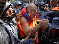 Tibetan protests in Nepal