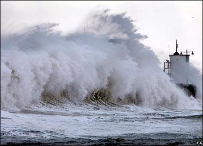 Ураган в Британии