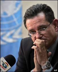 Carlos Castresana in a file photo from October 2007