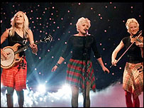 Texan country rock band The Dixie Chicks