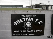 Raydale Park, home of Gretna FC