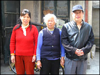 The Wang Jun family