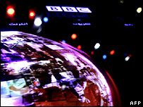 BBC Arabic TV branding