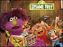 Sesame Tree characters