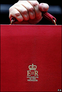 Chancellor of the Exchequer's red ministerial box (Image: PA)