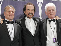 Lenny Davidson, Dave Clark and Rick Huxley of the Dave Clark Five