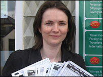 Kirsty Williams AM with petition