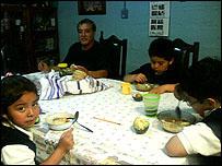 La familia Rodas