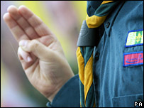 Scout salute