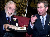 Spike Milligan and the Prince of Wales