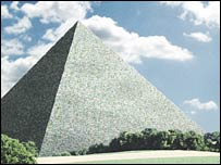 An artist's impression of the Great Pyramid. Photo: Friends of The Great Pyramid e.V.