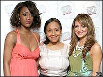 Tiana Benjamin, Belinda Osuwu and Kara Tointon