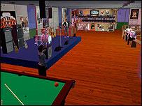 Virtual campus screenshot