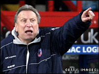 Crystal Palace boss Neil Warnock