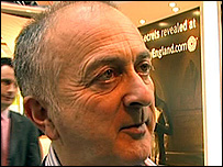 Actor Tony Robinson