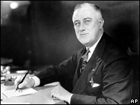 Franklin Delano Roosevelt, pictured in 1937