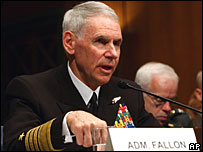 William Fallon, 4 March, 2008