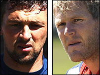 Steve Harmison and Matthew Hoggard
