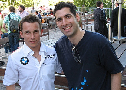Christian Klien and David Garrido