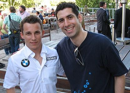 Christian Klien and David Garrido