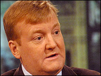Former leader of the Liberal Democrats Charles Kennedy MP