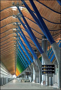 Roof at Barajas