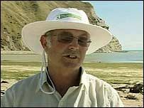 Malcom Smith, esponsable del departamento de Conservación de Medio Ambiente.