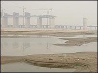Yangtze river dried up