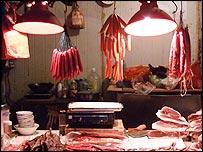 A meat market
