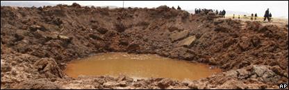 Peruvian crater (AP)