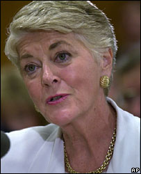 Geraldine Ferraro, file picture June 2001