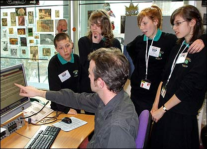Emma, Helen, Elizabeth and Ben from Mayfield School in Dagenham on Radio 4 on Wednesday devise their own running order for a news bulletin and explain their choices on air.