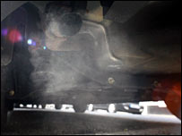 Generic image of car exhaust