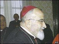 Iraqi Chaldean Catholic Archbishop Paulos Faraj Rahho