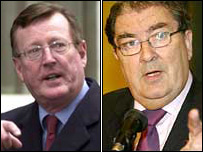 David Trimble and John Hume