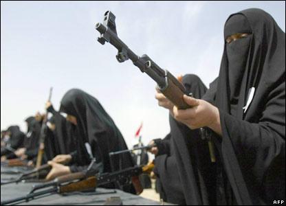 Iraqi policewomen