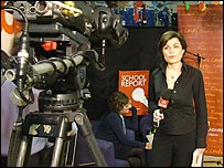TV reporter Jane Hill