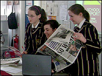 Loreto College students in St Albans